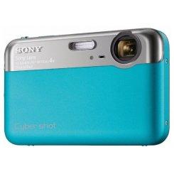 Фото Цифровые фотоаппараты Sony Cyber-shot DSC-J10 Blue