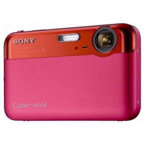 Фото Цифровые фотоаппараты Sony Cyber-shot DSC-J10 Red