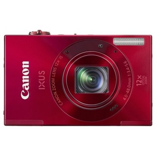 Фото Цифровые фотоаппараты Canon IXUS 500 HS Red