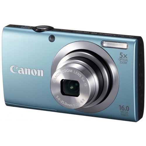 Фото Цифровые фотоаппараты Canon PowerShot A2400 IS Blue