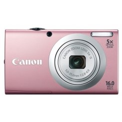 Фото Цифровые фотоаппараты Canon PowerShot A2400 IS Pink