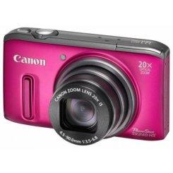 Фото Цифровые фотоаппараты Canon PowerShot SX240 HS Pink