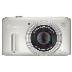 Фото Цифровые фотоаппараты Canon PowerShot SX240 HS Silver