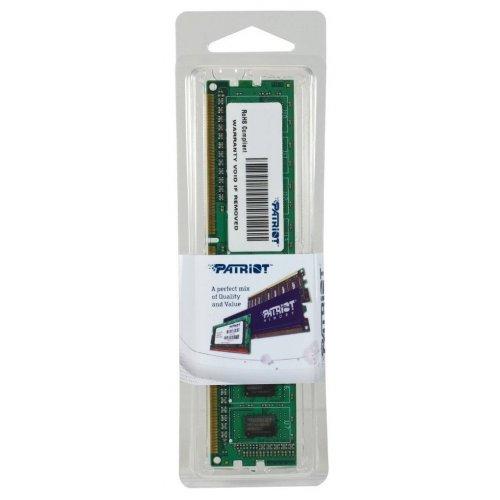 Фото ОЗУ Patriot DDR3 4GB 1600Mhz (PSD34G160081)