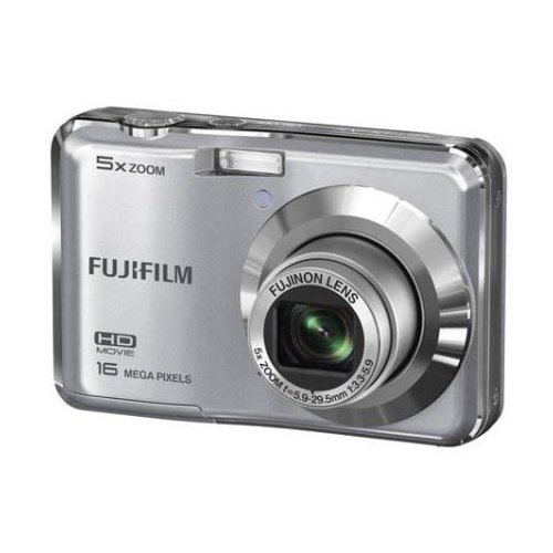 Фото Цифровые фотоаппараты Fujifilm FinePix AX550 Silver