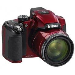 Фото Цифровые фотоаппараты Nikon Coolpix P510 Red