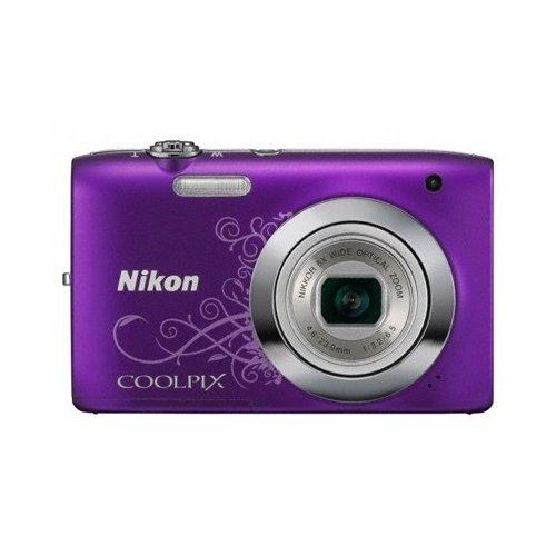 Фото Цифровые фотоаппараты Nikon Coolpix S2600 Purple