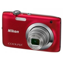 Фото Цифровые фотоаппараты Nikon Coolpix S2600 Red