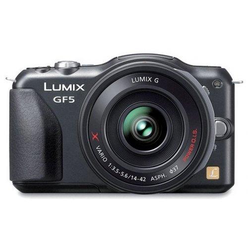 Фото Цифровые фотоаппараты Panasonic Lumix DMC-GF5X 14-42 Kit Black