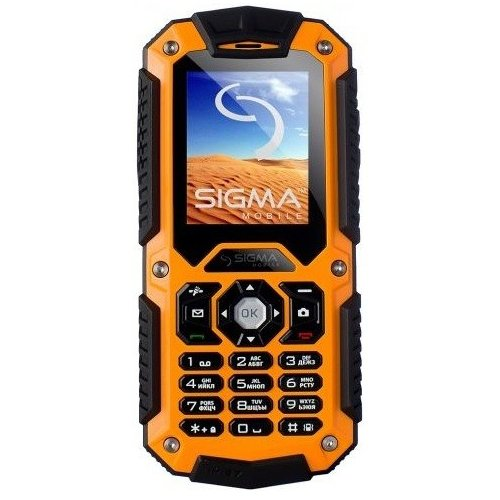 Фото Мобильный телефон Sigma mobile X-treme IT67 Dual Sim Orange