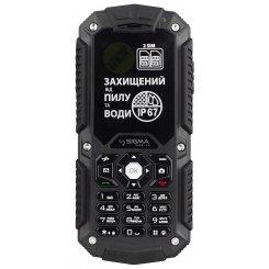 Фото Мобильный телефон Sigma mobile X-treme IT67 Dual Sim Black
