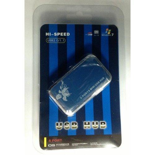 Фото USB-хаб ATcom TD707 USB 2.0 4-ports (15273)