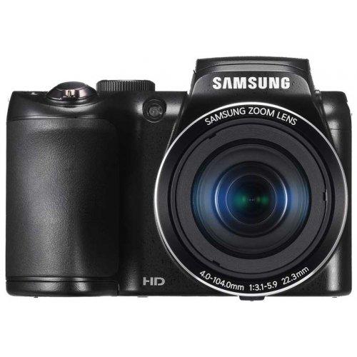 Фото Цифровые фотоаппараты Samsung WB100 Black