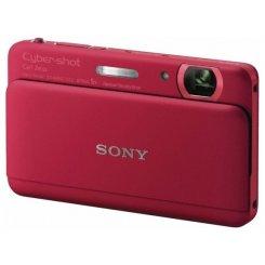 Фото Цифровые фотоаппараты Sony Cyber-shot DSC-TX55 Red