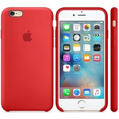 Фото Чехол Apple iPhone 6s Silicone Case (MKY32) Red
