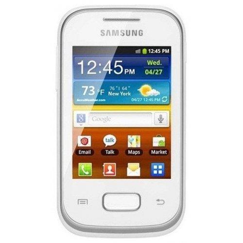 Фото Смартфон Samsung Galaxy Pocket Duos S5302 White