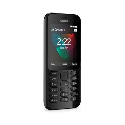 Фото Мобильный телефон Nokia 222 Dual SIM Black