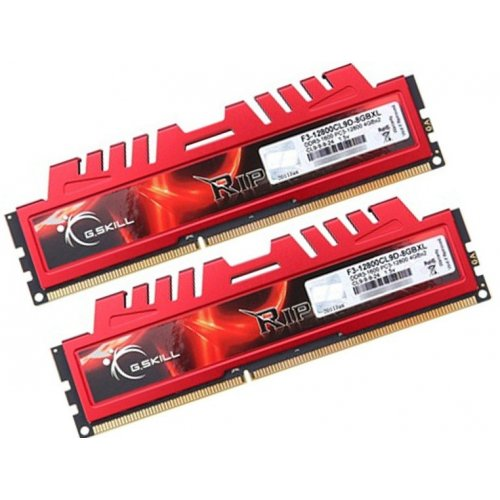 Фото ОЗУ G.Skill DDR3 8GB (2x4GB) 1600MHz Ripjaws X (F3-12800CL9D-8GBXL)