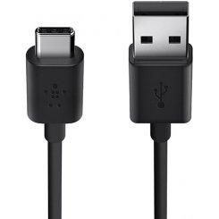 Фото USB Кабель Belkin USB-C 1.8m (F2CU032bt06) Black