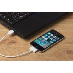 Фото USB Кабель Kit Lightning (IPUSBDATWHKT) White