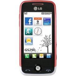 Фото Мобильный телефон LG GS290 Red