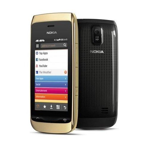 Фото Мобильный телефон Nokia Asha 308 Golden Light