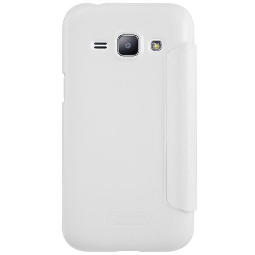 Фото Чехол Чехол Nillkin Sparkle Series для Samsung Galaxy J1 Ace J110 White