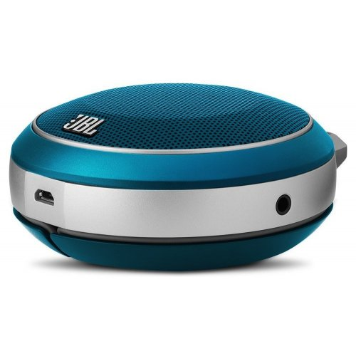 Фото Акустическая система JBL Micro Wireless (JBLMICROWBLU) Blue