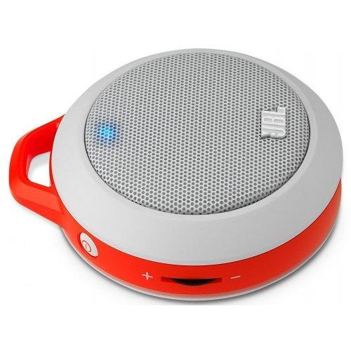 Фото Портативная акустика JBL Micro II (JBLMICROIIORN) White/Orange