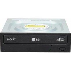 Фото Оптический привод LG SATA DVD±R/RW 24x (GH24NSD1) Black