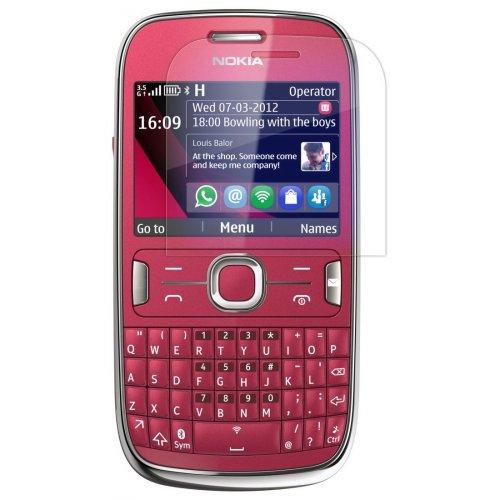 Фото Защитная пленка для Nokia 302 Clear