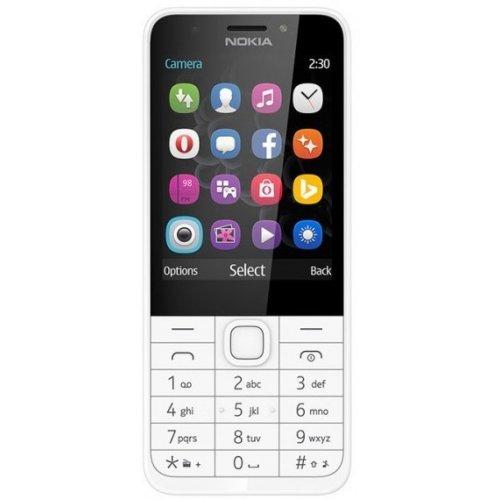 Фото Мобильный телефон Nokia 230 Dual Sim (A00026972) Silver