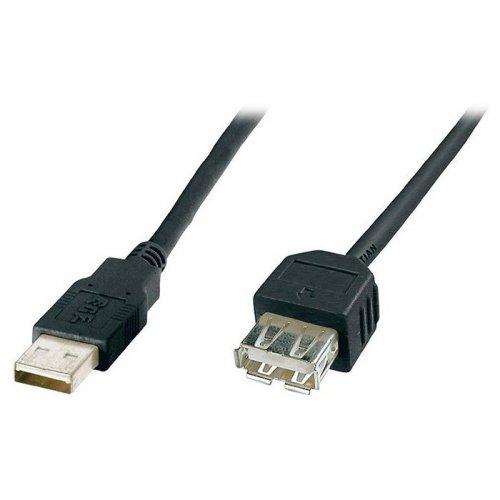 Фото Удлинитель Digitus USB 2.0 AM-AF 1.8m (AK-300200-018-S)