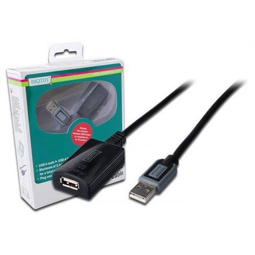 Фото Удлинитель Digitus USB 2.0 AM-AF 10m (DA-73100-1)