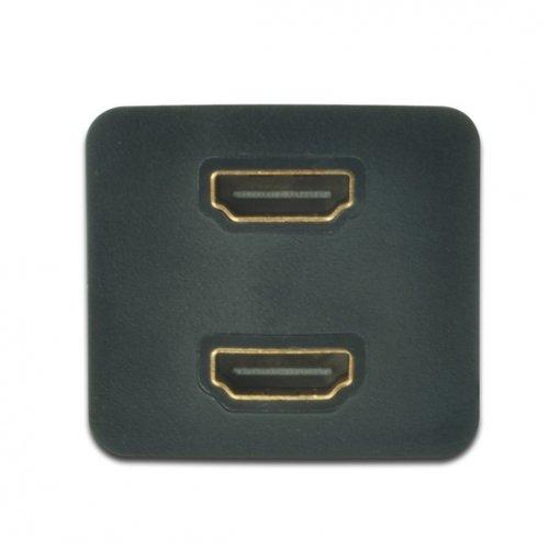 Фото Переходник Digitus HDMI-HDMI 2-port 0.2m (AK-330400-002-S)