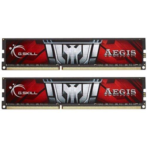 Фото ОЗУ G.Skill DDR3 8GB (2x4GB) 1600Mhz Aegis (F3-1600C11D-8GIS)