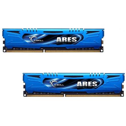 Фото ОЗУ G.Skill DDR3 8GB (2x4GB) 1600Mhz Ares Blue (F3-1600C9D-8GAB)
