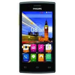 Фото Смартфон Philips Xenium S307 Black Yellow