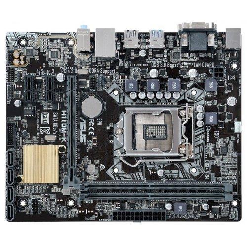 Фото Материнская плата Asus H110M-K (s1151, Intel H110)