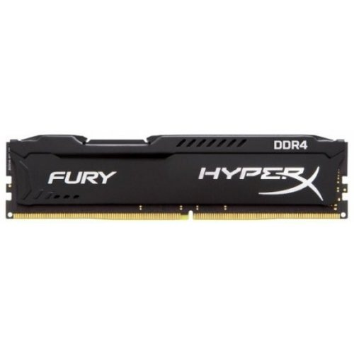Фото ОЗУ Kingston DDR4 4GB 2666Hz HyperX FURY Black (HX426C15FB/4)