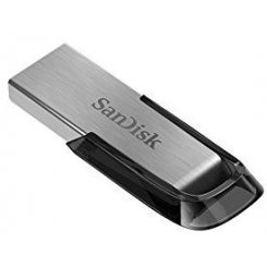 Фото Накопитель SanDisk Ultra Flair USB 3.0 128GB Steel-Black (SDCZ73-128G-G46)