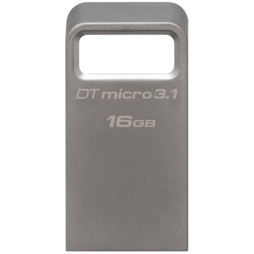 Фото Накопитель Kingston DataTraveler Micro USB 3.1 16GB Metal (DTMC3/16GB)