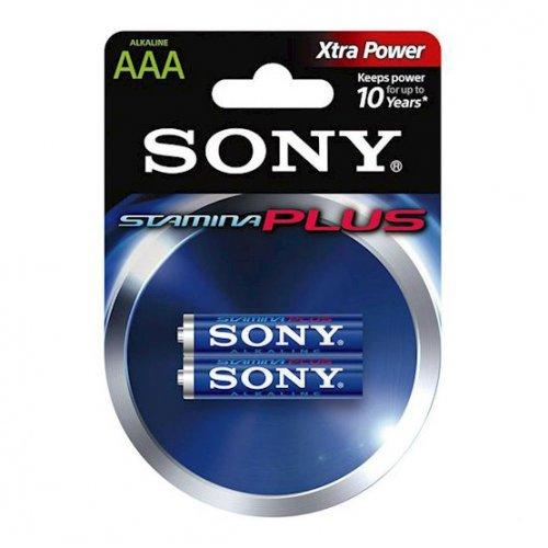 Фото Батарейки Sony AAA (LR03) Stamina Plus 2шт (AM4B2D)