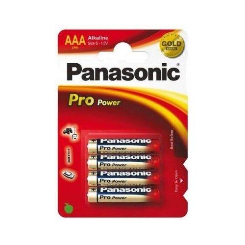 Фото Батарейки Panasonic AAA (LR03) 4шт (LR03XEG/4BP)