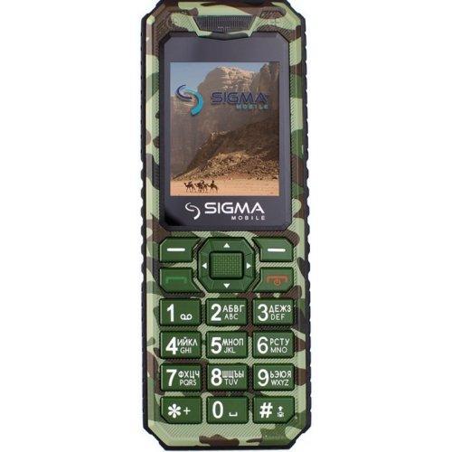 Фото Мобильный телефон Sigma mobile X-style 11 Dragon Green Camouflage
