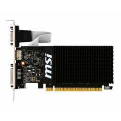 Фото Видеокарта MSI GeForce GT 710 2048MB (GT 710 2GD3H LP)