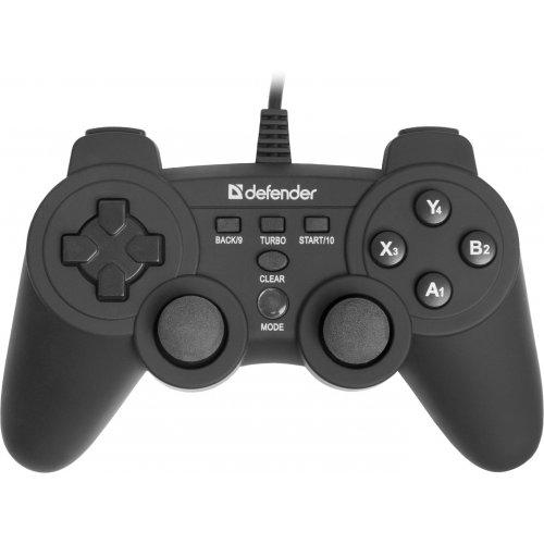 Фото Игровые манипуляторы Defender Game Racer X7 (64254)