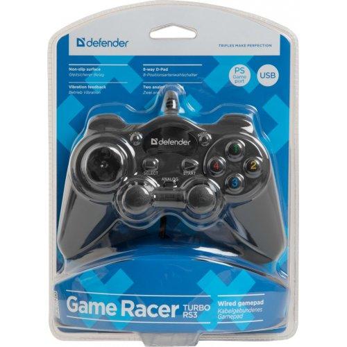 Фото Игровой манипулятор Defender Game Racer Turbo (64251)