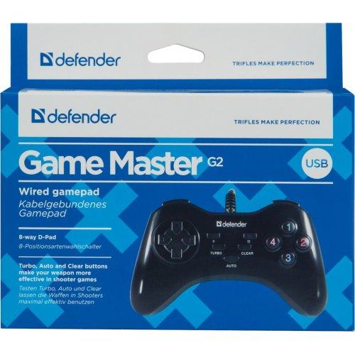 Фото Игровой манипулятор Defender Master G2 (64258)