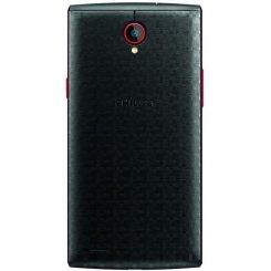 Фото Смартфон Philips S337 Dual Sim Black Red